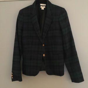J. Crew wool schoolboy blazer